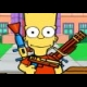 Bart Simpson Defense online game