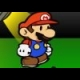 Paper mario musical Mini online game