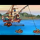 Defend Fishboat online game