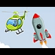 I Am Flying To The Moon online game